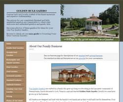 Golden Rule Gazebo